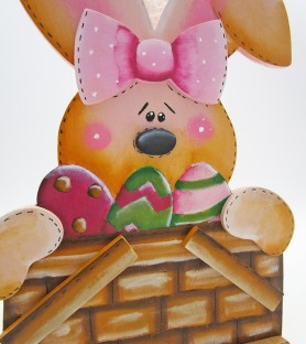 Easter rabbit kitchen roll...