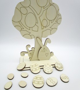 Raw kit Easter family tree