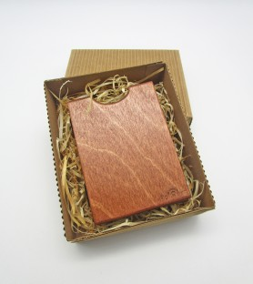 Wallet - card holder in wood